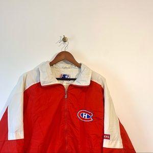 Vintage Montreal Canadiens Starter Windbreaker